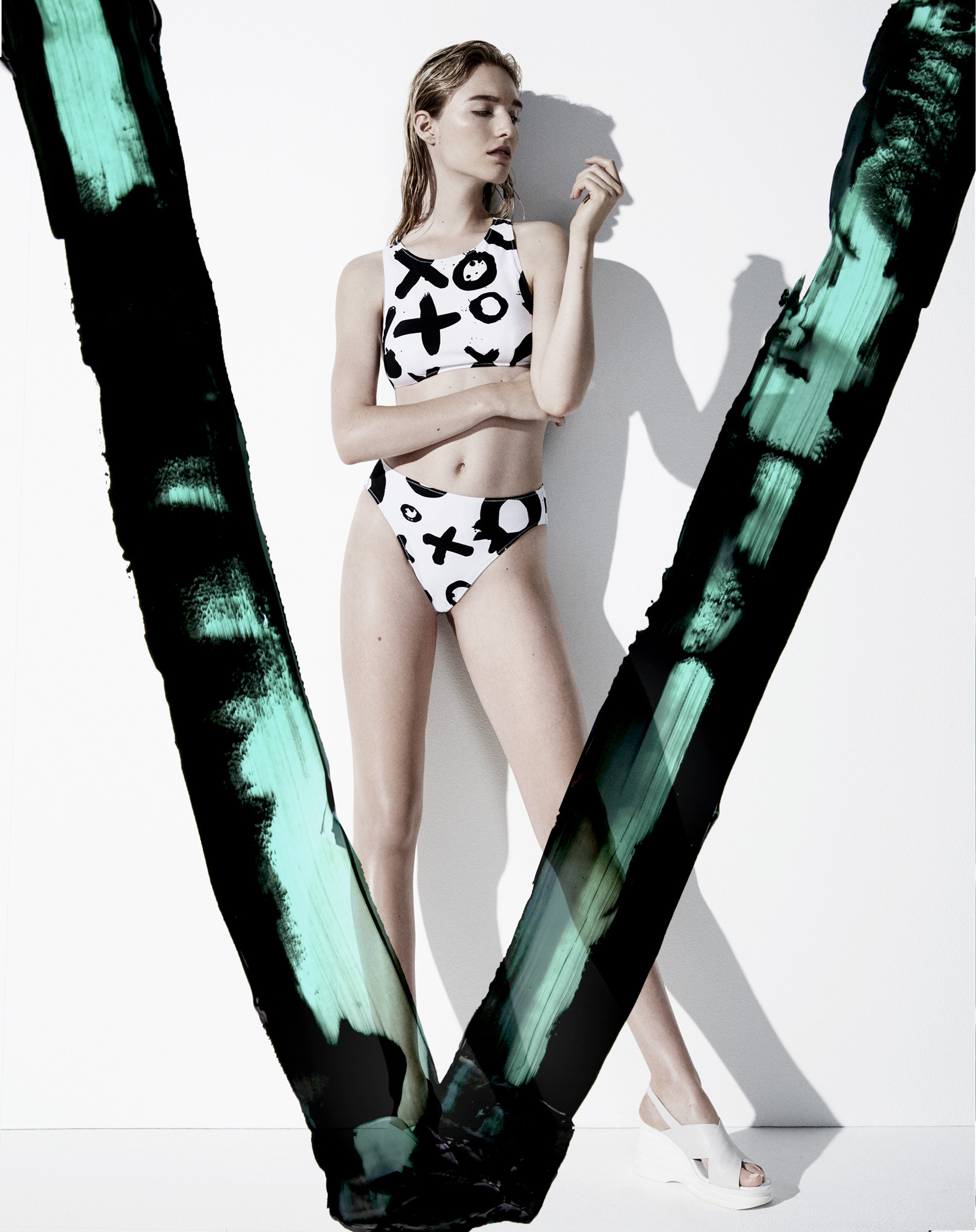 Araks | Minimal Swimwear with bold pattern print
