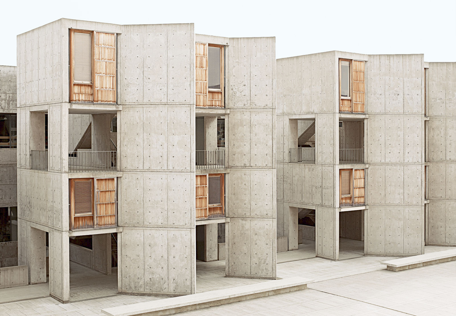 Salk Institute by Louis Kahn | Concrete Architecture in California