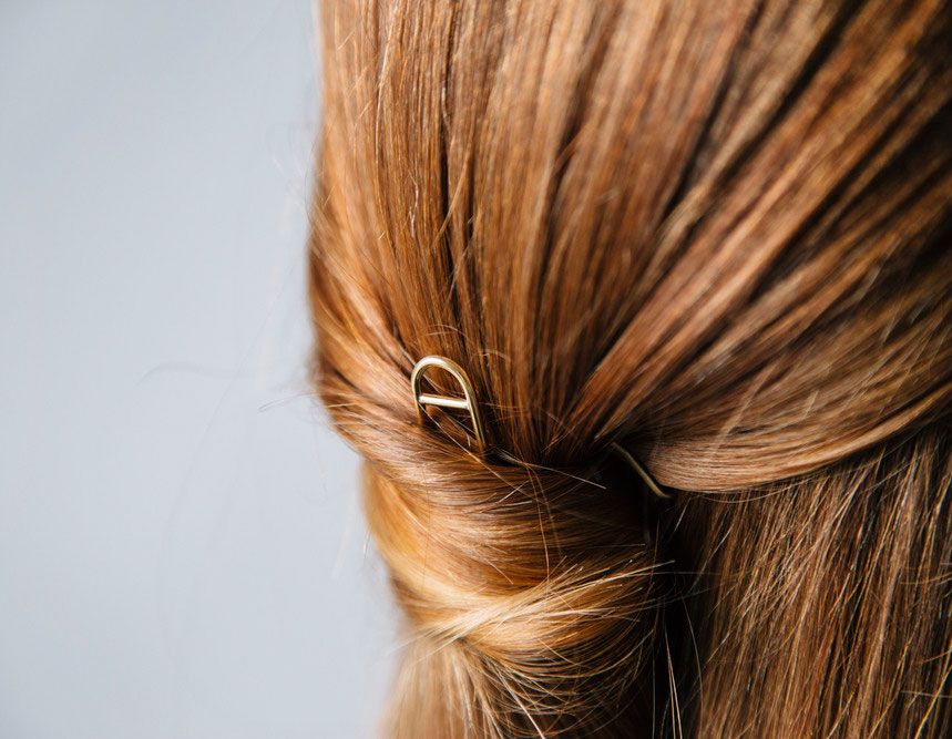 Ellen Mote Jewelry | Brass Hair Pin