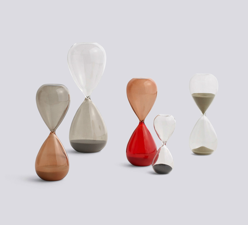 Time – Modern hourglasses by HAY