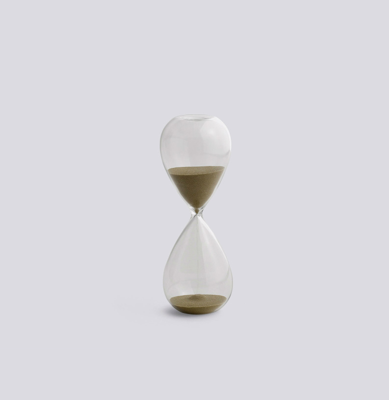 Time – Modern Hourglass by HAY – objects for the home