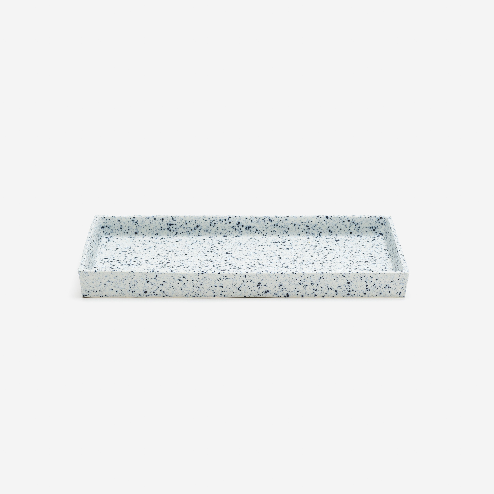 De Intuitiefabriek | Modern ceramic tray with sprinkles