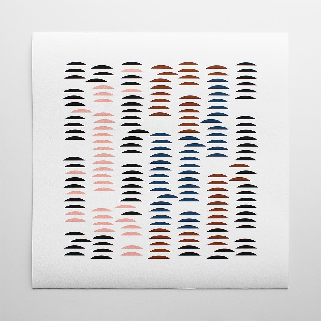 Barclay Haro Art Prints | Chromatic Grid