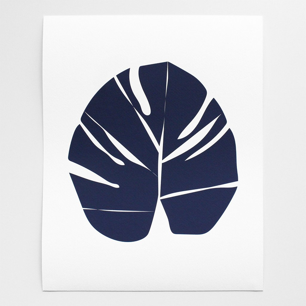 Barclay Haro Art Prints | Monstera Leaf