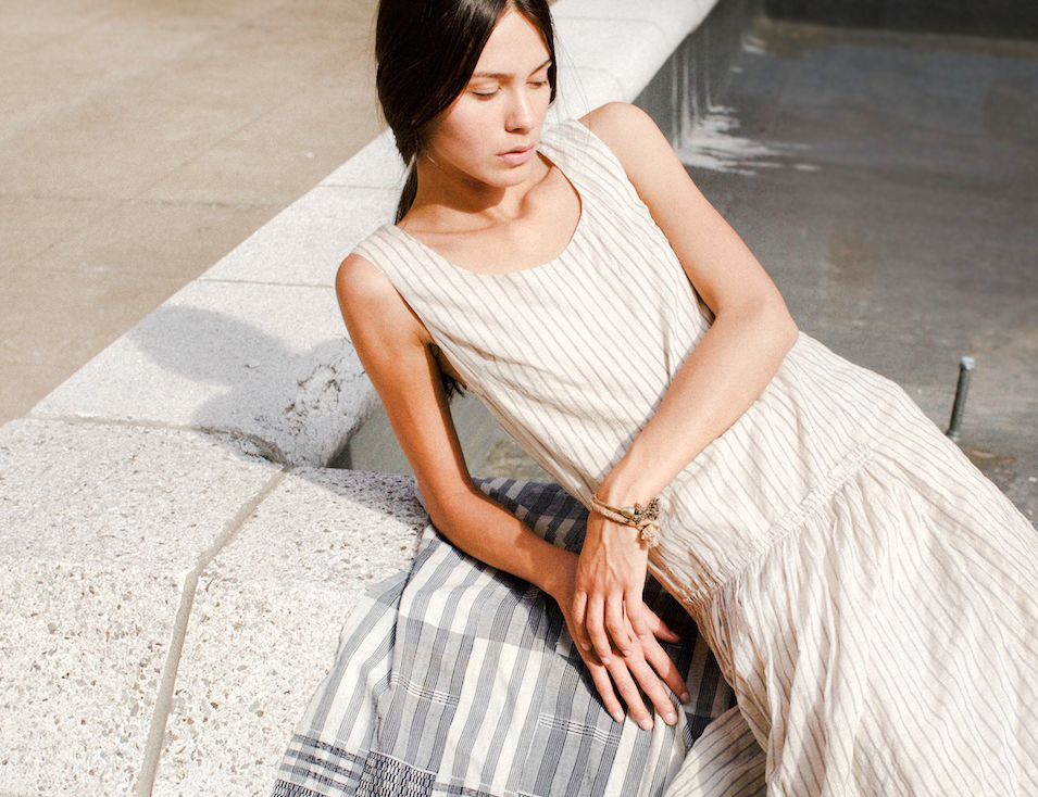 Minimalistic Summer Dress by Caron Callahan