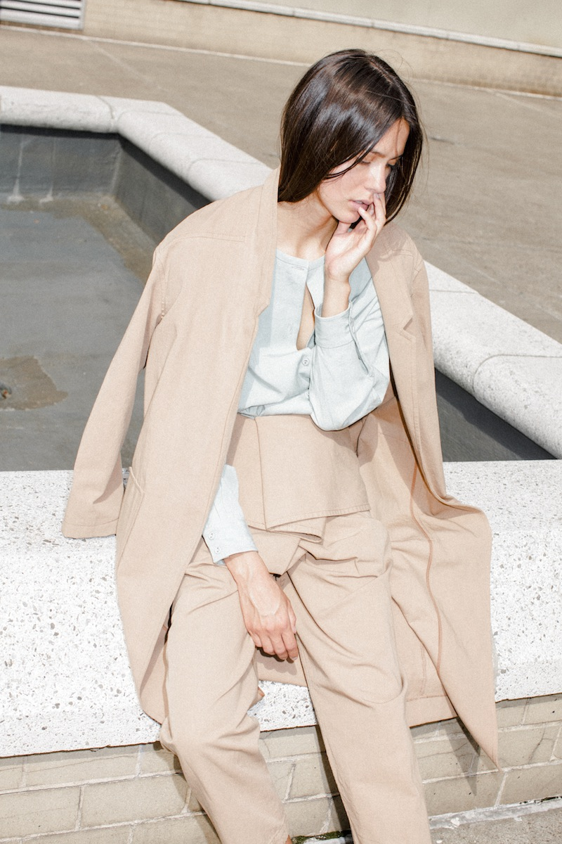 Minimalistic Summer Clothing by Caron Callahan