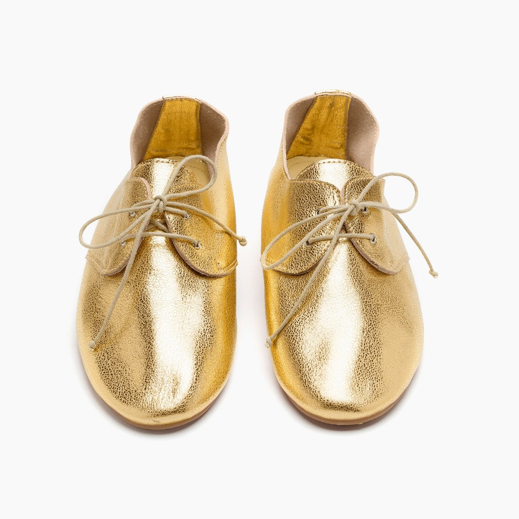 Hobes shoes | metallic gold