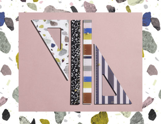 Daily Fiction Stationery by Normann Copenhagen | Colorful Rulers