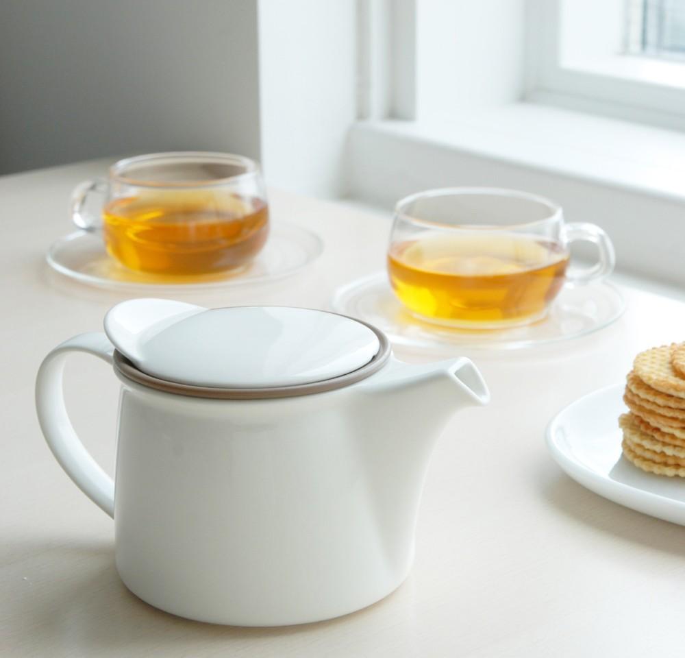 Kinto Japanese Ceramics | Teapot Set