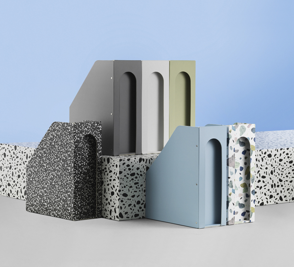 Daily Fiction Stationery by Normann Copenhagen | Binder with pattern