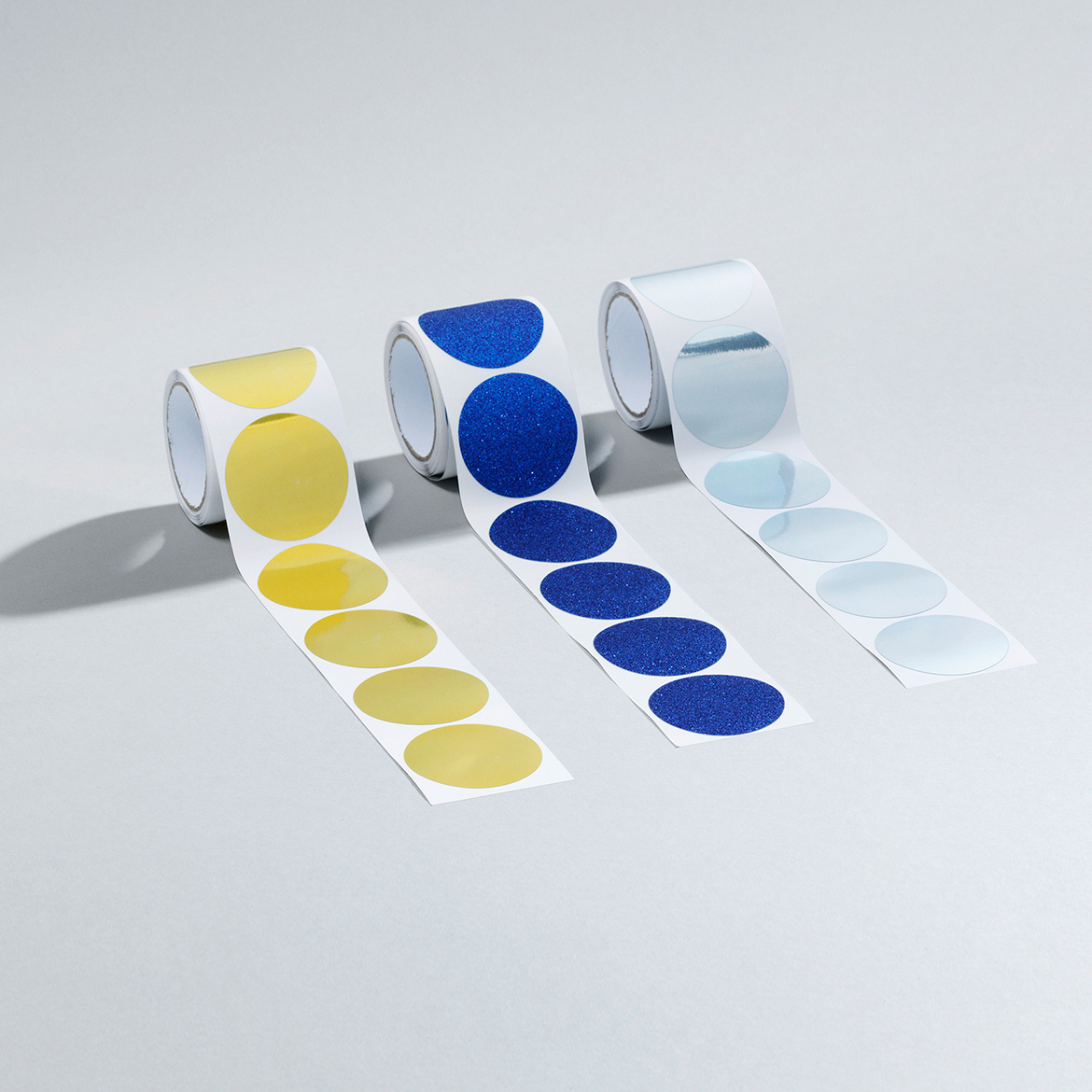 Daily Fiction Stationery by Normann Copenhagen | dot glitter stickers