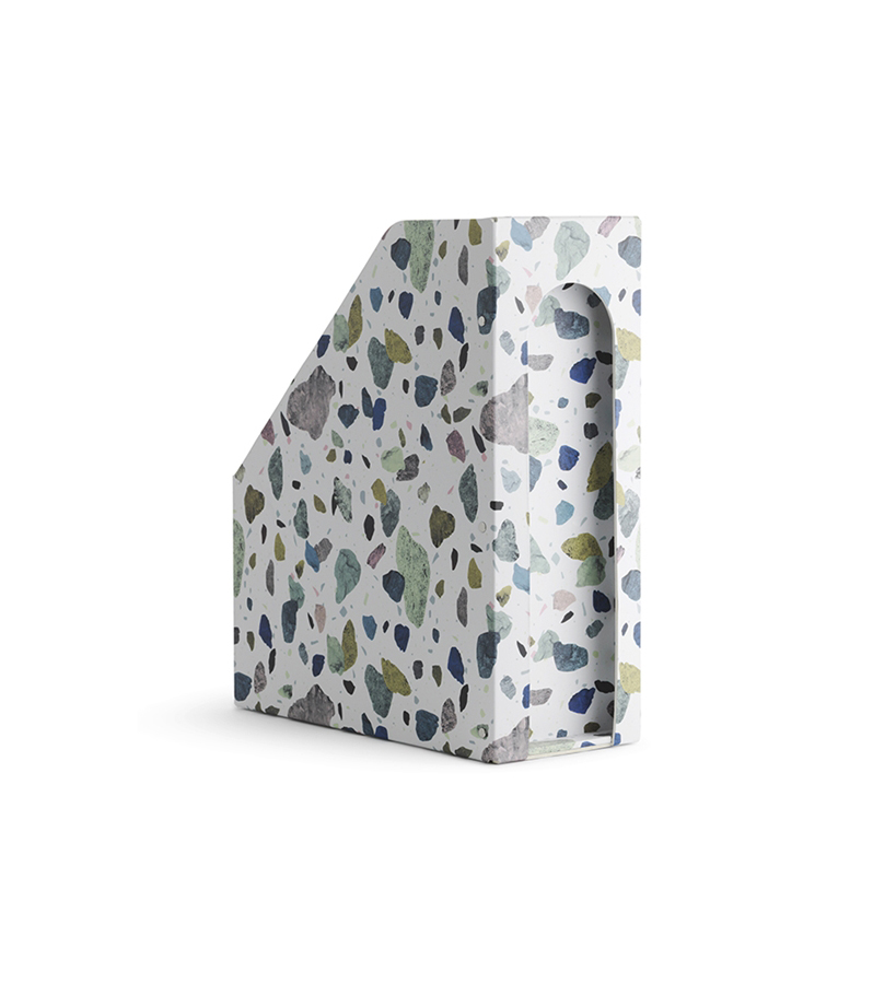 Daily Fiction Stationery by Normann Copenhagen | Binder with terrazzo pattern