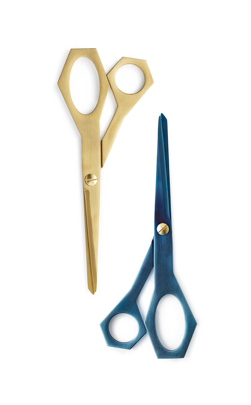 Daily Fiction Stationery by Normann Copenhagen | metallic scissors