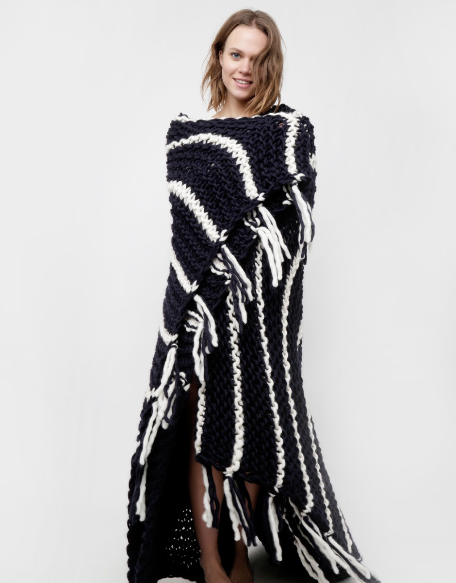 Cozy Wool Blanket by Wool and the Gang