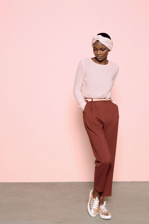 Des Petits Hauts | Softest Knitwear #colorblocking