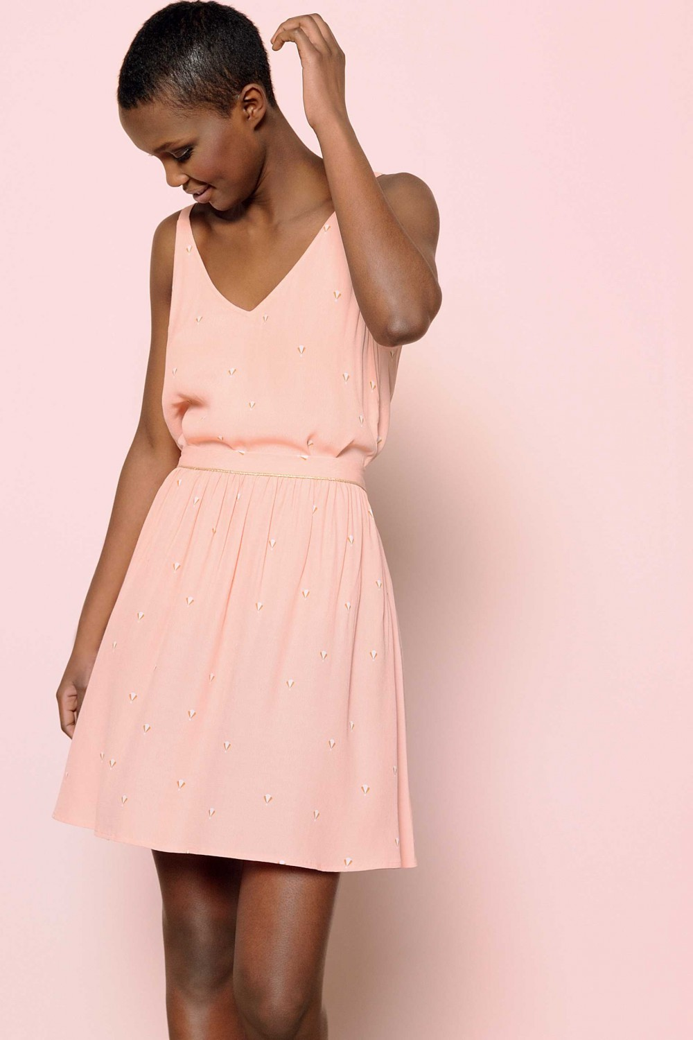 Des Petits Hauts | Light pink dress