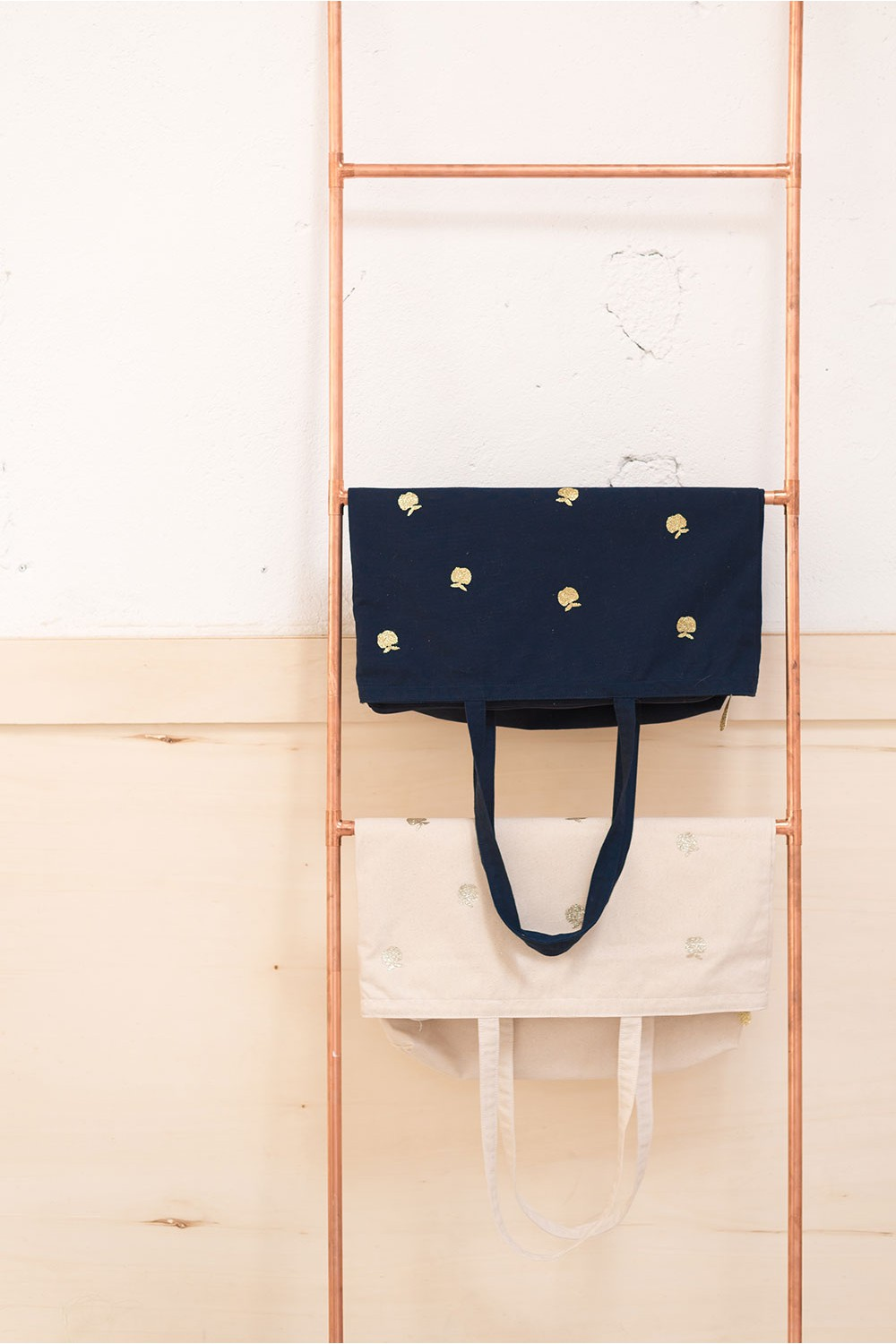 Des Petits Hauts | Tote Bag with gold applications