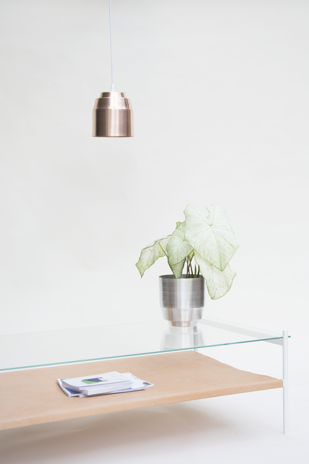 Copper and silver metalls at home #interiordesign