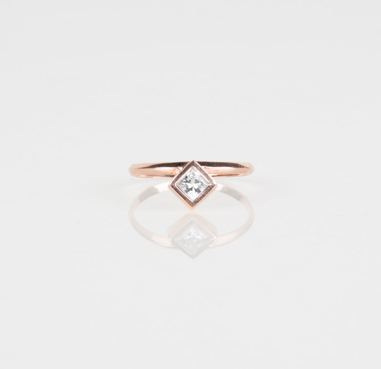 Yield | rosegold fine jewelry ring