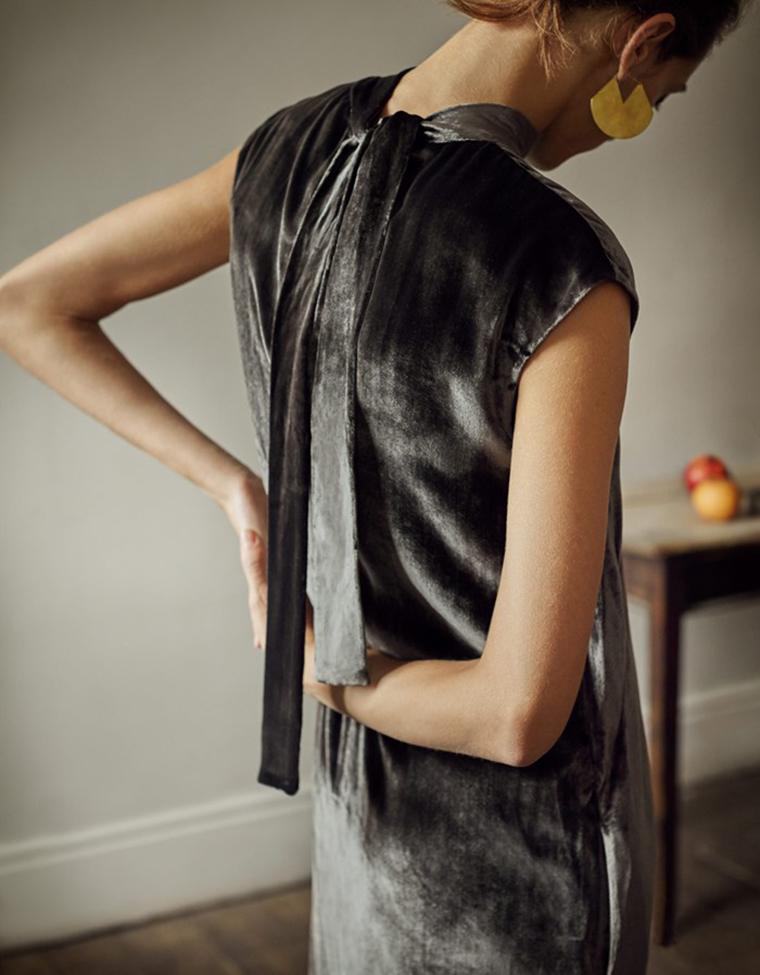 Toast fashion | Velvet Christmas Dress