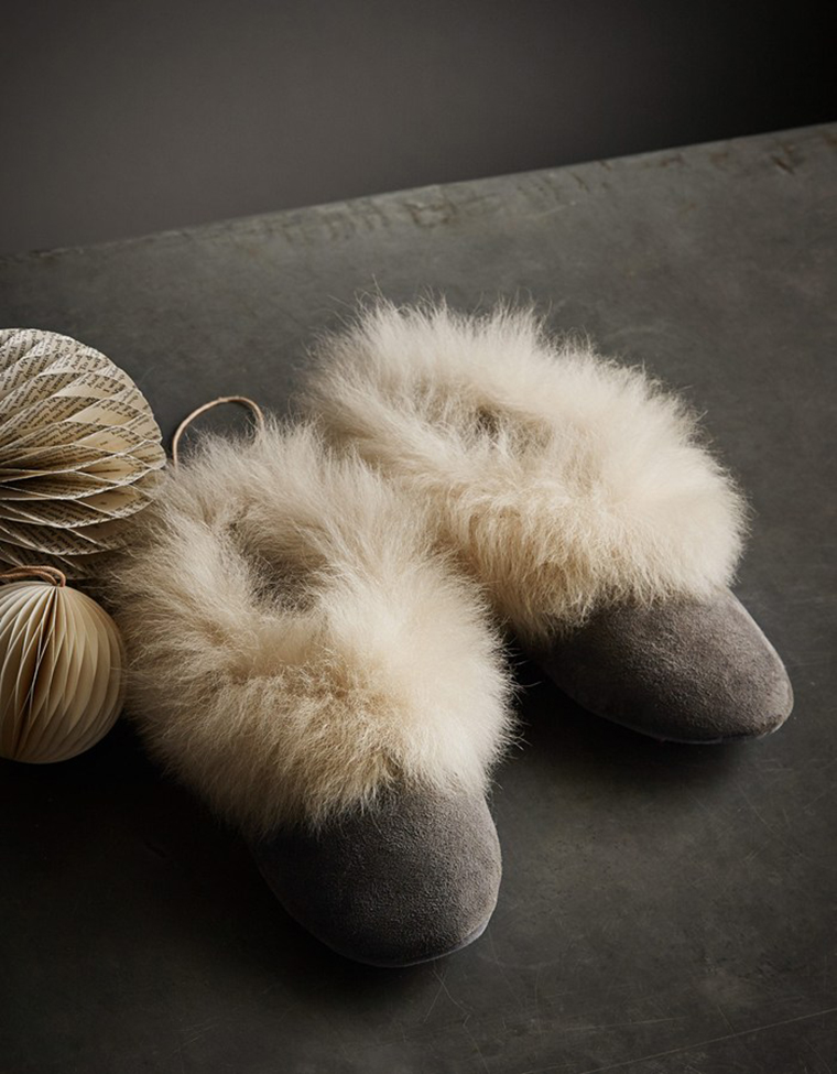 Toast fashion | winter house shoes with fur