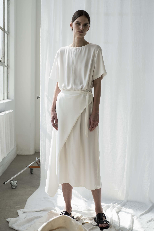 Shaina Mote | white airy summer dress