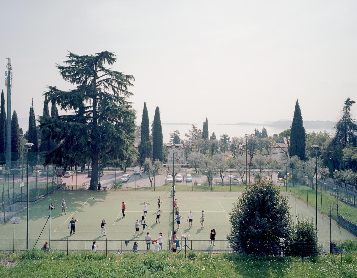 Italian tennis court