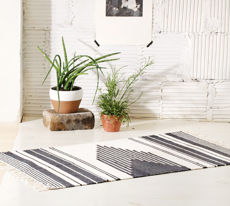 Woven cotton rug handmade in Brazil | Joinery NYC