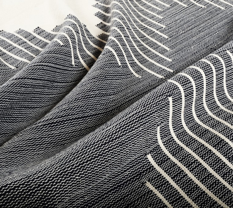 Woven cotton blanket handmade in Brazil | Joinery NYC