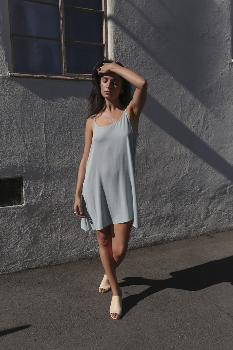 Mixed Business LA | Seafoam Slip Dress