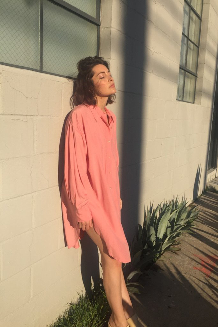 Mixed Business LA Vintage Shirtdress   Specialty Retail Shop