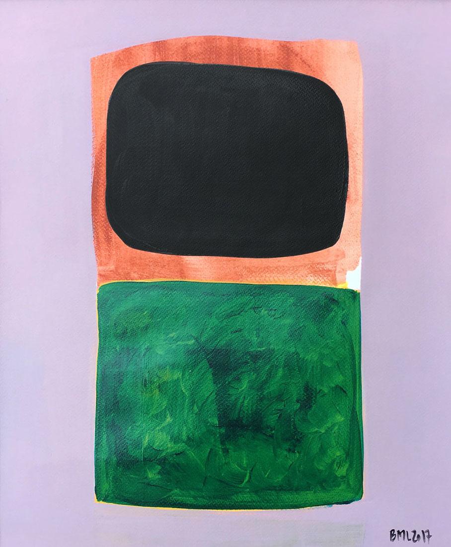 Bold colors painting | Berit Mogensen Lopez