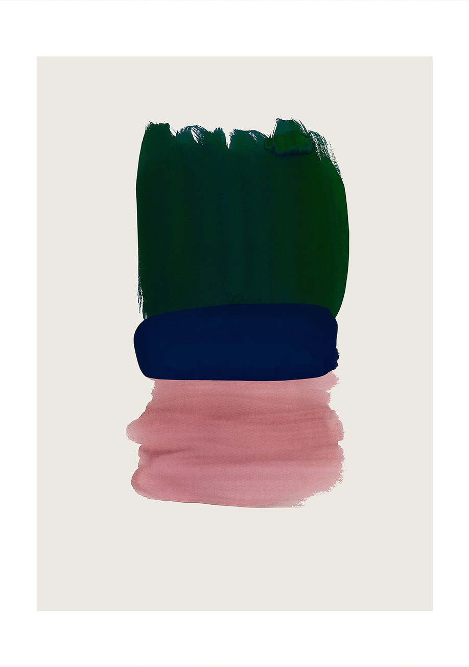 Bold colors print | art for the home