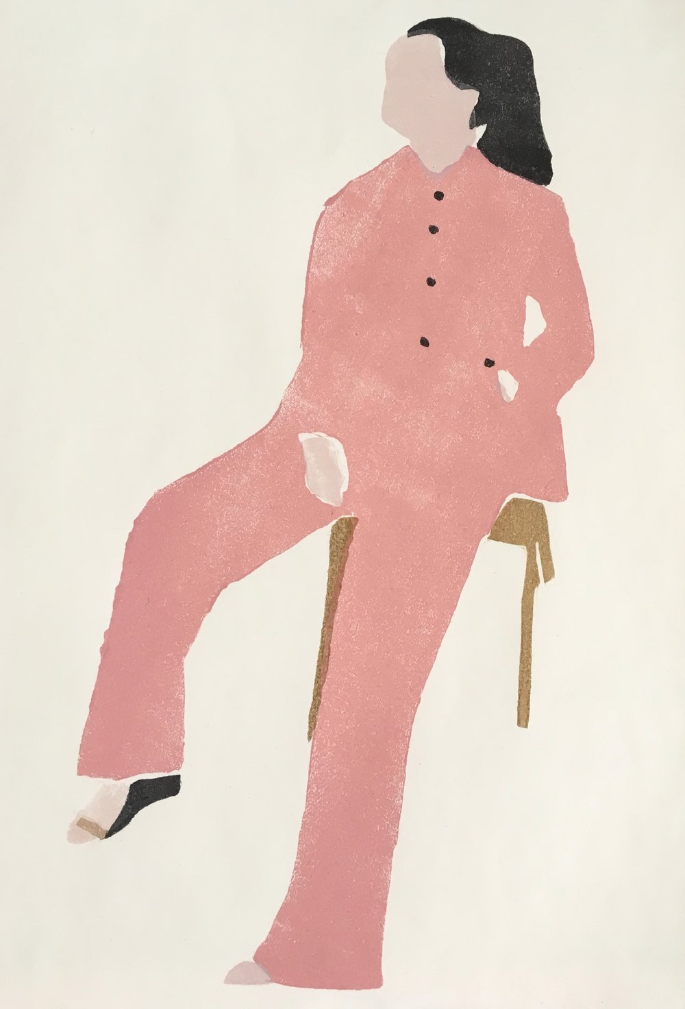 Modern Fashion Paintings / Illustration by Renée Gouin